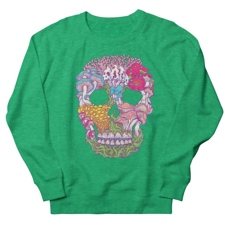 Mushrooms Women's Sweatshirt by arisuber's Artist Shop