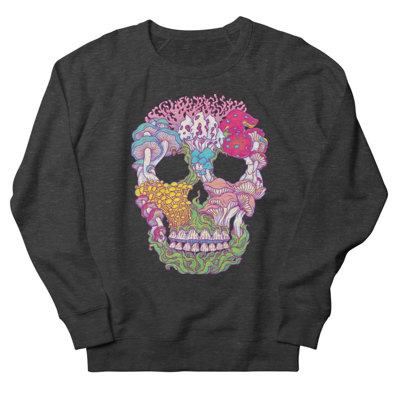 Mushrooms Men's French Terry Sweatshirt by arisuber's Artist Shop