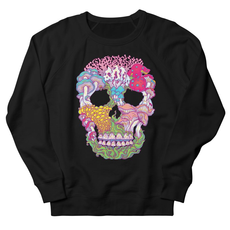Mushrooms Men's Sweatshirt by arisuber's Artist Shop