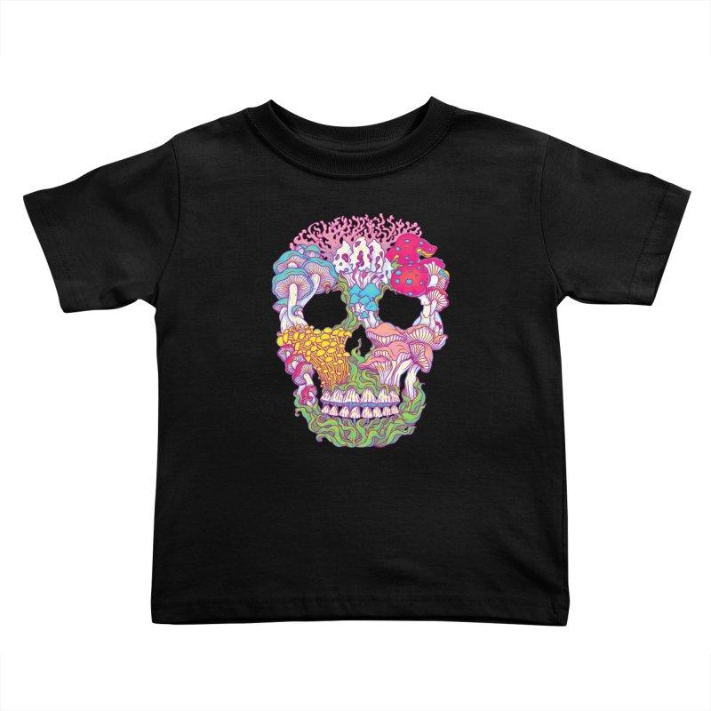 Mushrooms Kids Toddler T-Shirt by arisuber's Artist Shop