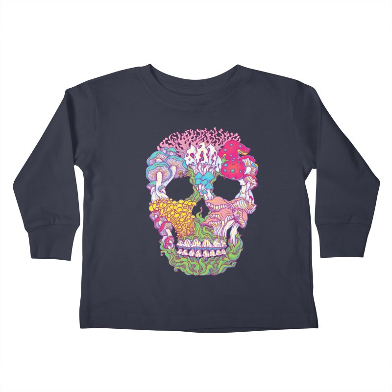 Mushrooms Kids Toddler Longsleeve T-Shirt by arisuber's Artist Shop