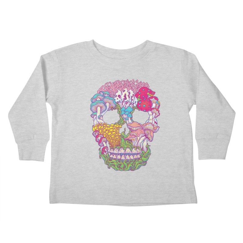 Mushrooms Kids Toddler Longsleeve T-Shirt by arisuber's Artist Shop
