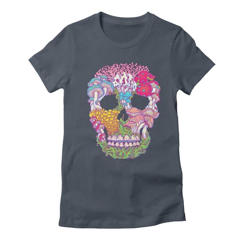 Mushrooms Women's T-Shirt by arisuber's Artist Shop