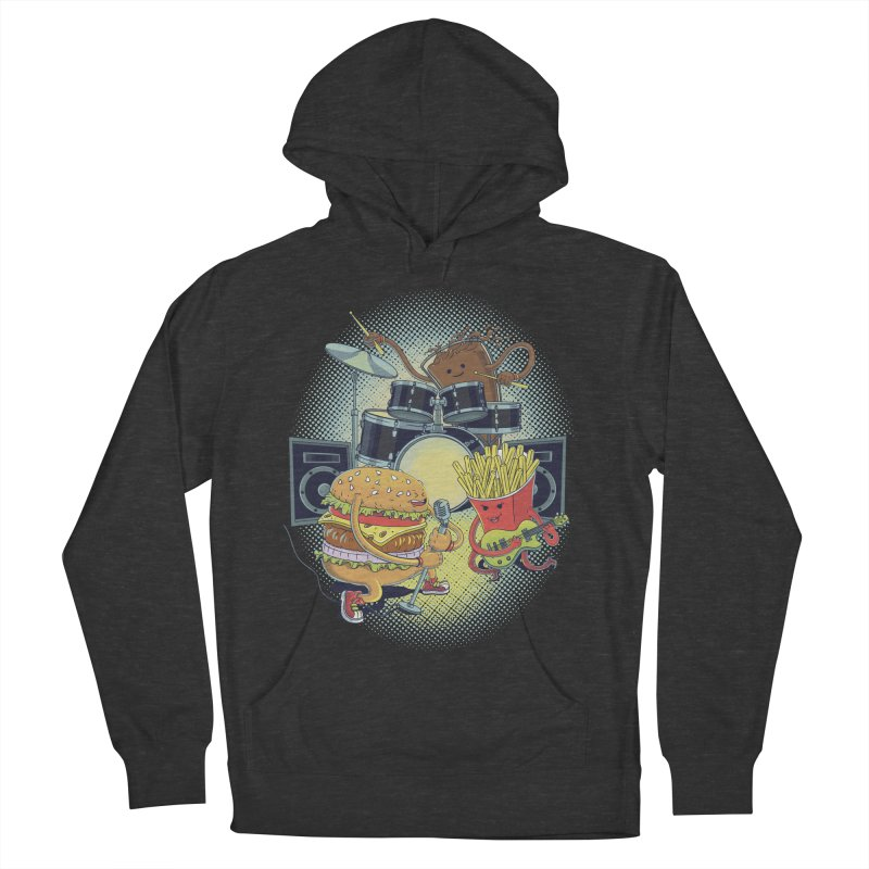 Tasty tunes Women's Pullover Hoody by arisuber's Artist Shop