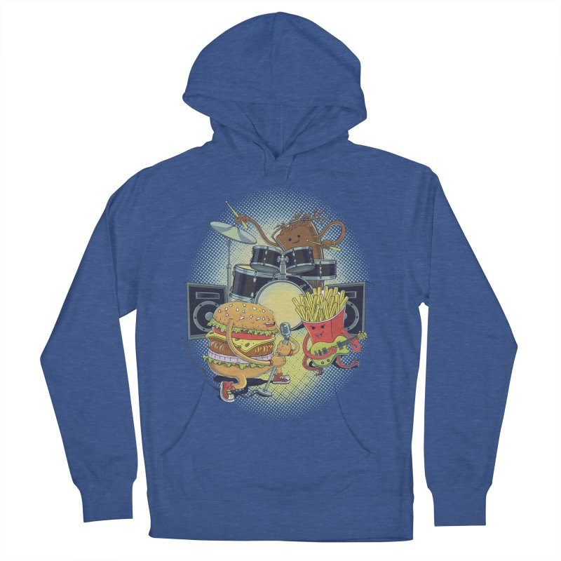 Tasty tunes Men's French Terry Pullover Hoody by arisuber's Artist Shop