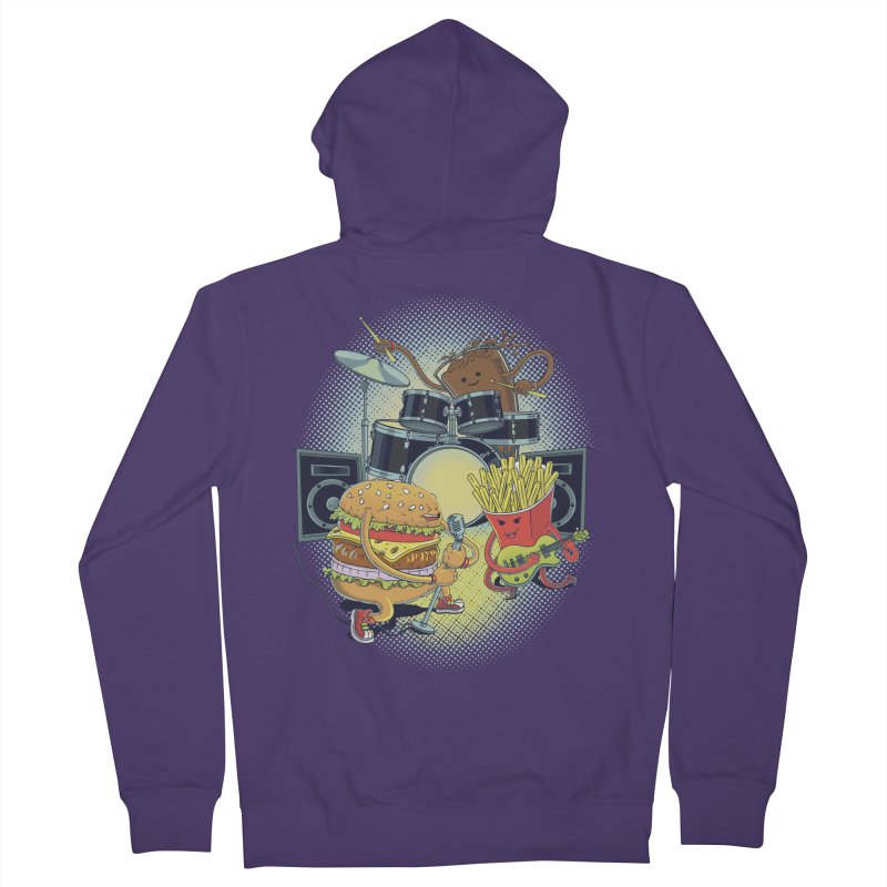 Tasty tunes Women's Zip-Up Hoody by arisuber's Artist Shop