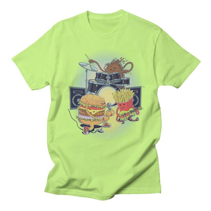Tasty tunes Men's Regular T-Shirt by arisuber's Artist Shop