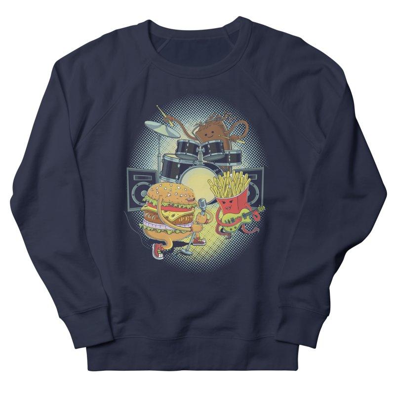 Tasty tunes Women's French Terry Sweatshirt by arisuber's Artist Shop