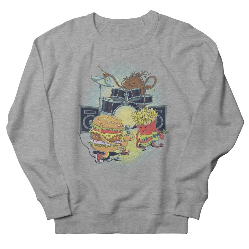 Tasty tunes Men's French Terry Sweatshirt by arisuber's Artist Shop