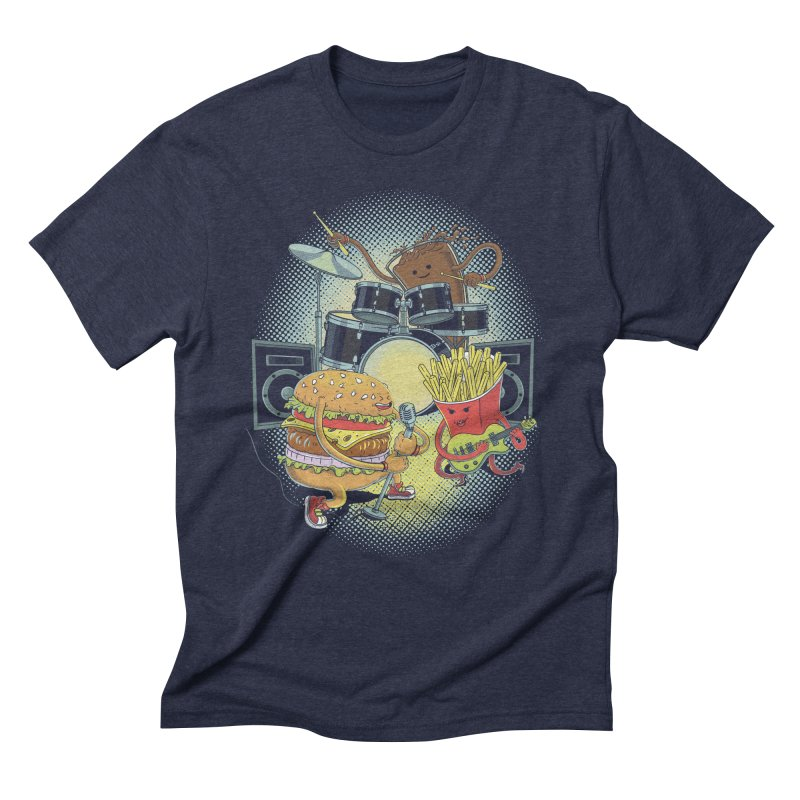 Tasty tunes Men's Triblend T-Shirt by arisuber's Artist Shop