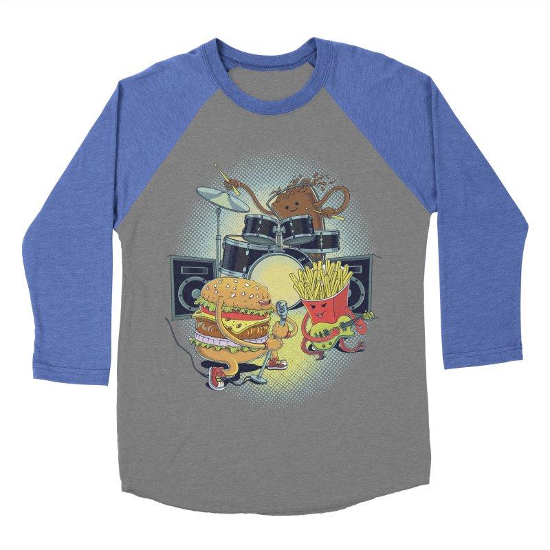 Tasty tunes Women's Baseball Triblend T-Shirt by arisuber's Artist Shop
