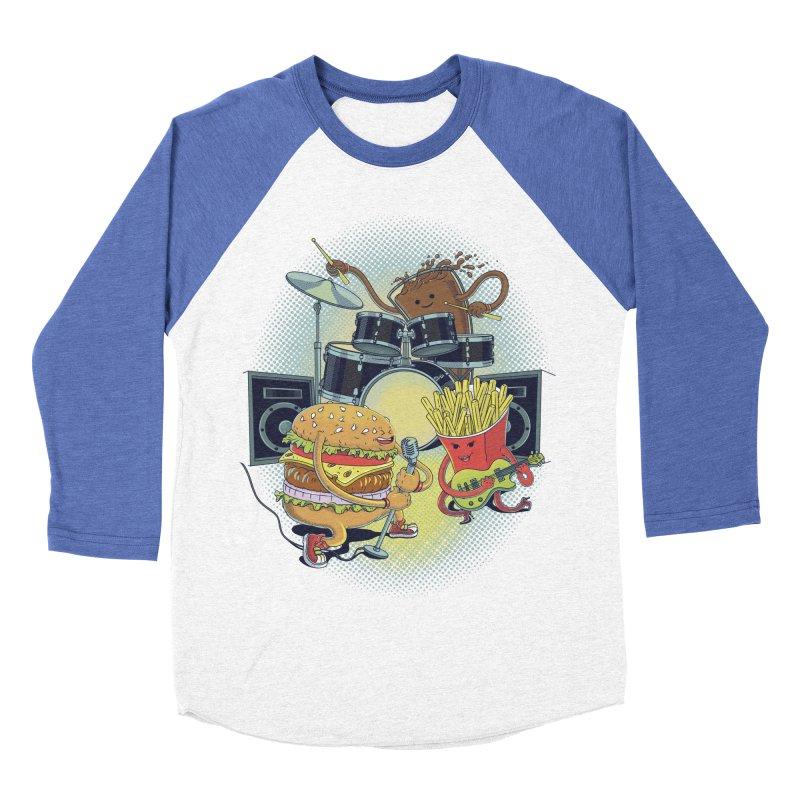 Tasty tunes Men's Baseball Triblend Longsleeve T-Shirt by arisuber's Artist Shop