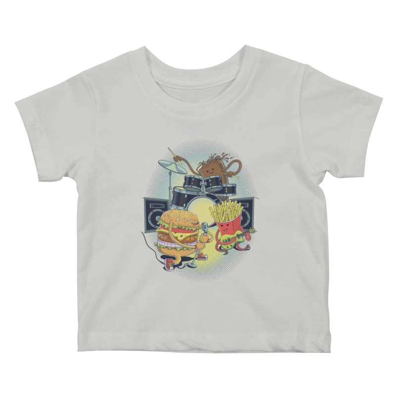 Tasty tunes Kids Baby T-Shirt by arisuber's Artist Shop