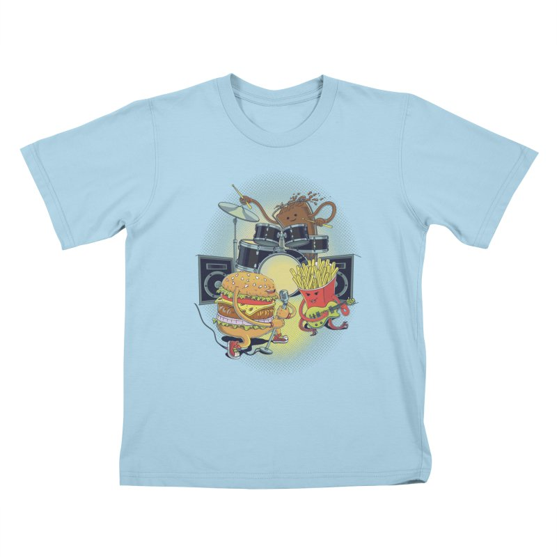 Tasty tunes Kids T-Shirt by arisuber's Artist Shop
