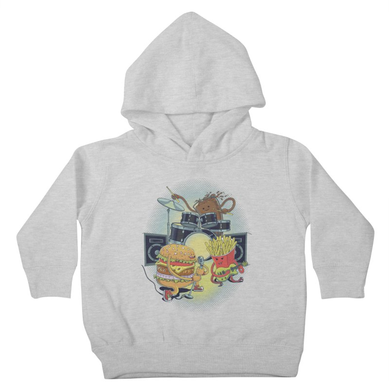 Tasty tunes Kids Toddler Pullover Hoody by arisuber's Artist Shop