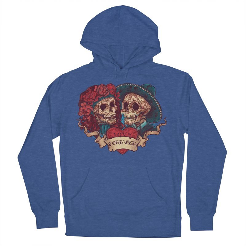 Eternal love Men's Pullover Hoody by arisuber's Artist Shop