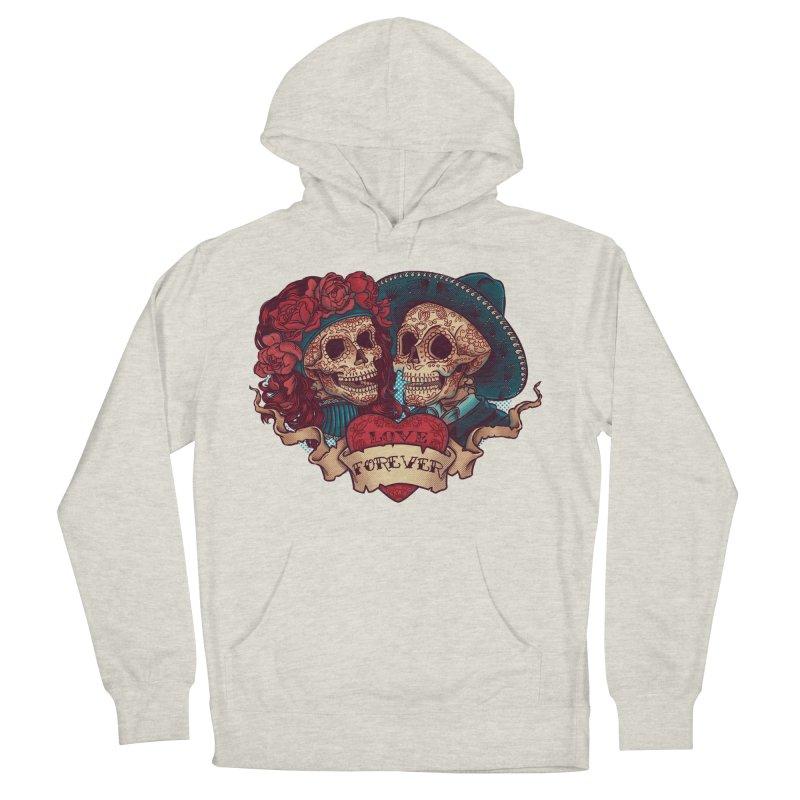 Eternal love Men's Pullover Hoody by arisuber's Artist Shop