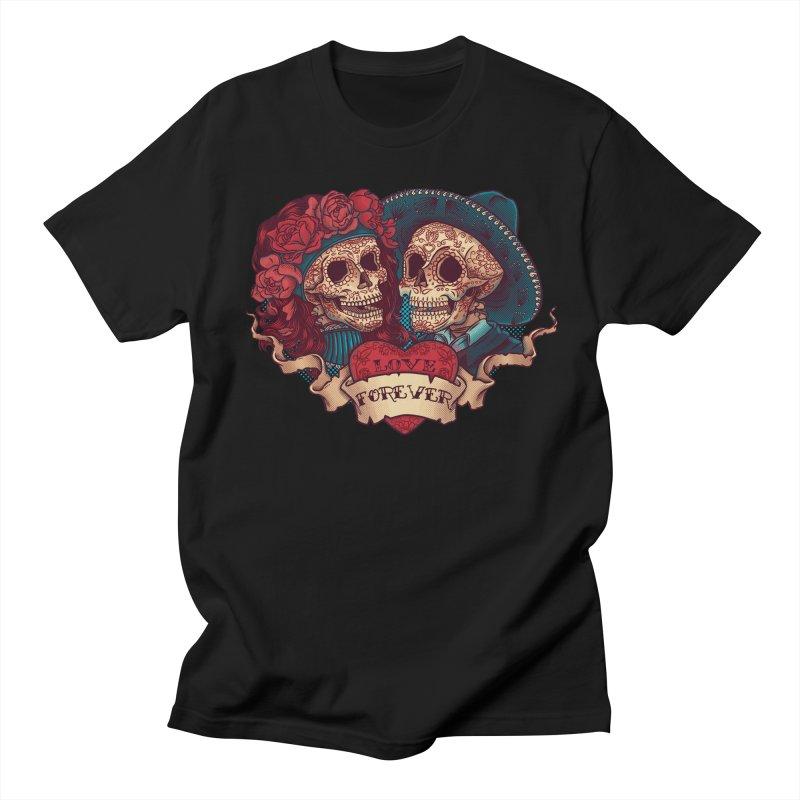 Eternal love Men's Regular T-Shirt by arisuber's Artist Shop