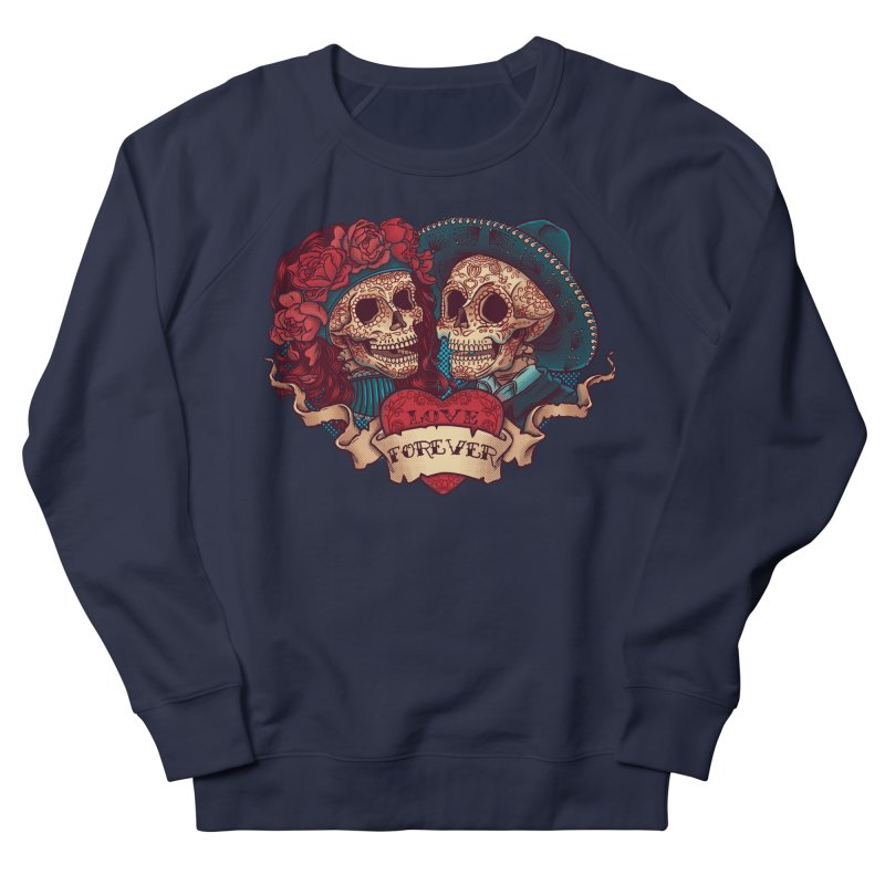 Eternal love Women's Sweatshirt by arisuber's Artist Shop