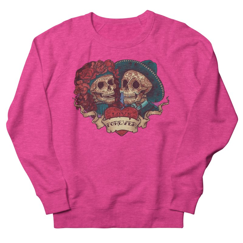 Eternal love Men's French Terry Sweatshirt by arisuber's Artist Shop