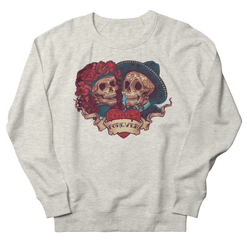 Eternal love Men's Sweatshirt by arisuber's Artist Shop