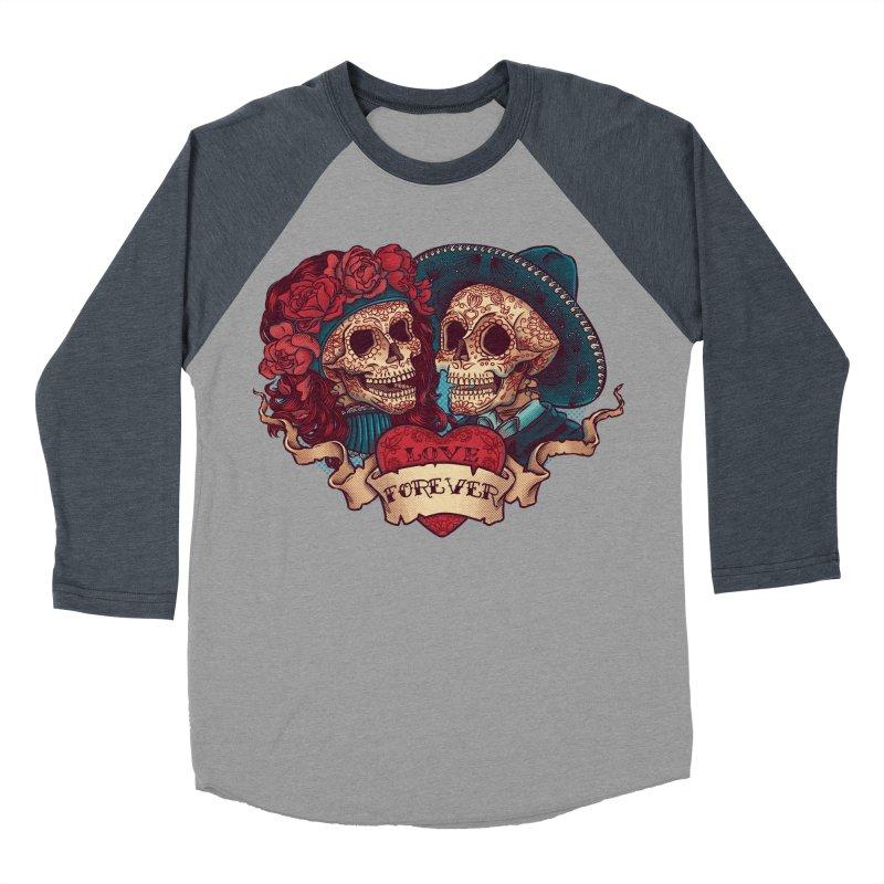 Eternal love Women's Baseball Triblend T-Shirt by arisuber's Artist Shop