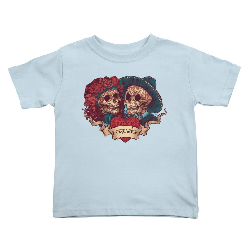 Eternal love Kids Toddler T-Shirt by arisuber's Artist Shop