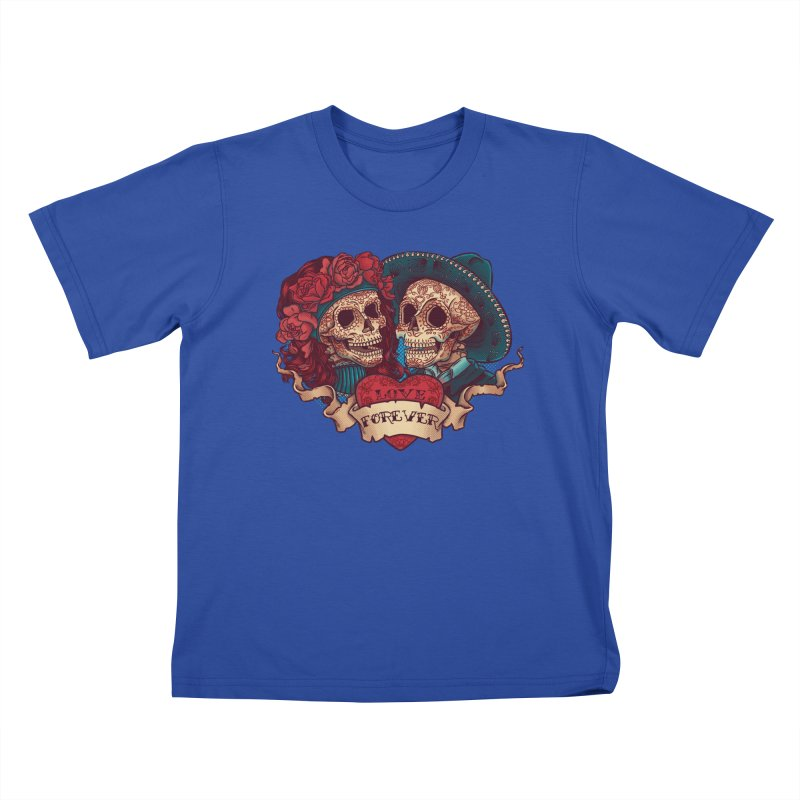 Eternal love Kids T-Shirt by arisuber's Artist Shop