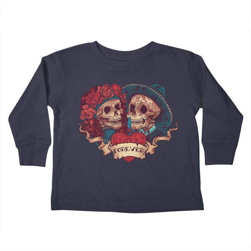 Eternal love Kids Toddler Longsleeve T-Shirt by arisuber's Artist Shop
