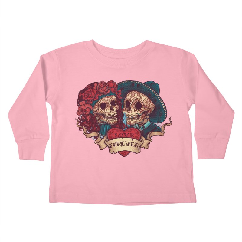 Eternal love Kids Toddler Longsleeve T-Shirt by arisuber's Artist Shop