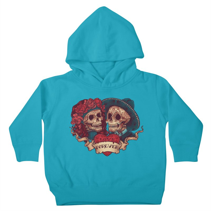 Eternal love Kids Toddler Pullover Hoody by arisuber's Artist Shop