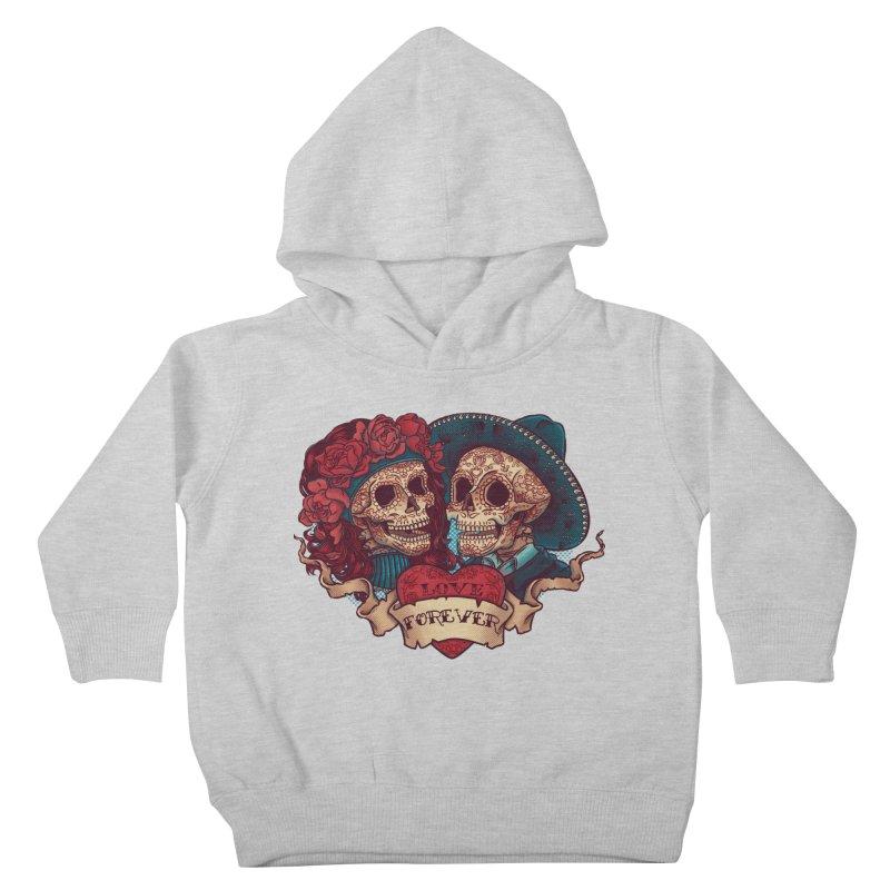 Eternal love Kids Toddler Pullover Hoody by arisuber's Artist Shop