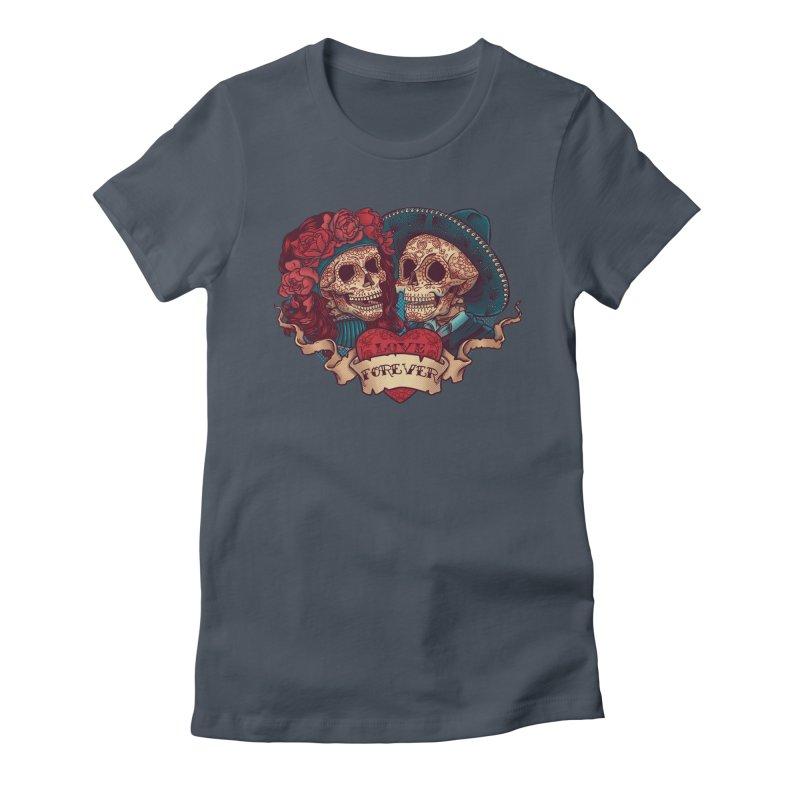 Eternal love Women's T-Shirt by arisuber's Artist Shop