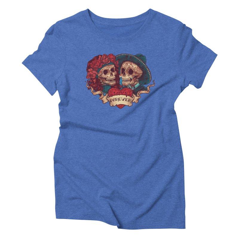 Eternal love Women's Triblend T-Shirt by arisuber's Artist Shop