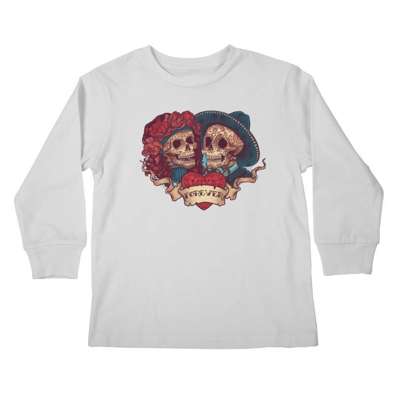 Eternal love Kids Longsleeve T-Shirt by arisuber's Artist Shop
