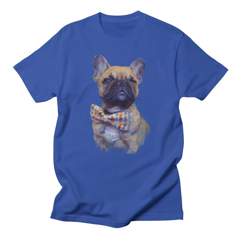 French Bulldog Men's T-Shirt by arisuber's Artist Shop