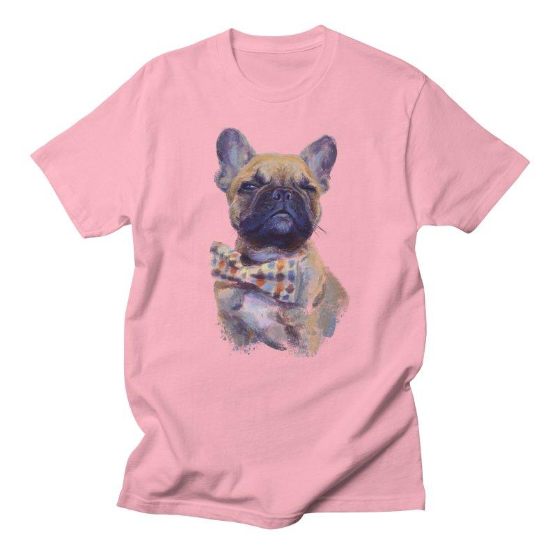 French Bulldog Men's Regular T-Shirt by arisuber's Artist Shop