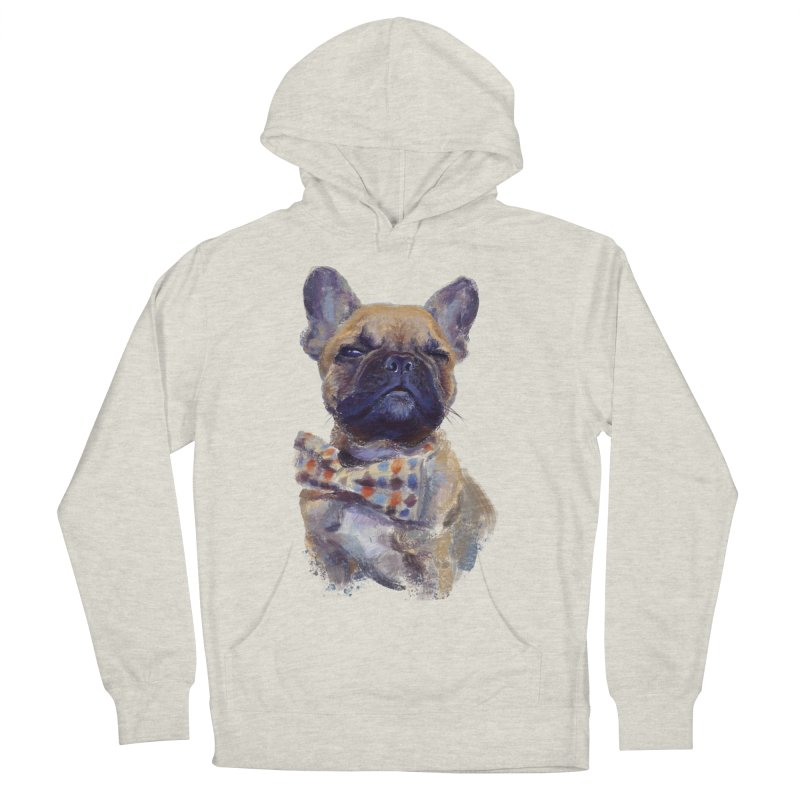 French Bulldog Women's Pullover Hoody by arisuber's Artist Shop