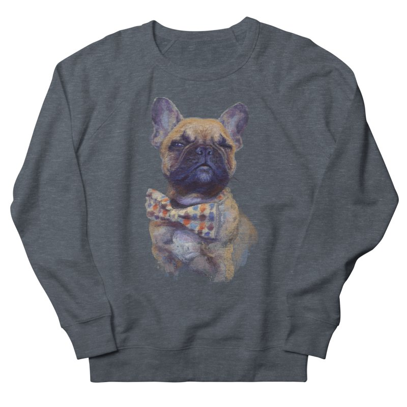 French Bulldog Women's Sweatshirt by arisuber's Artist Shop