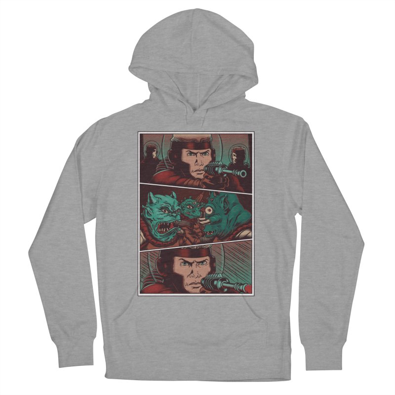 Comics Women's French Terry Pullover Hoody by arisuber's Artist Shop