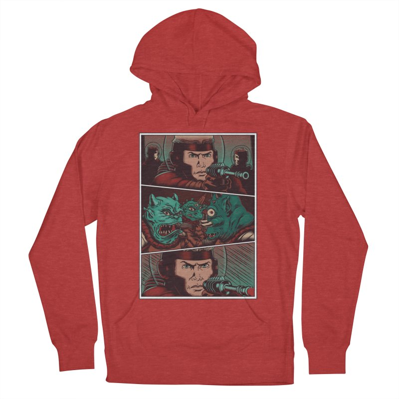 Comics Men's French Terry Pullover Hoody by arisuber's Artist Shop