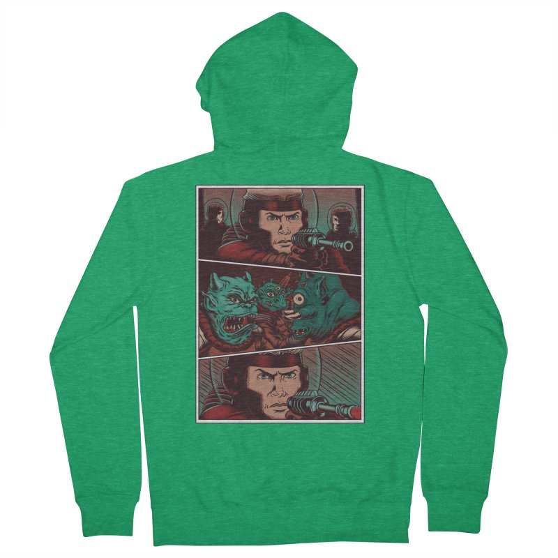 Comics Women's Zip-Up Hoody by arisuber's Artist Shop