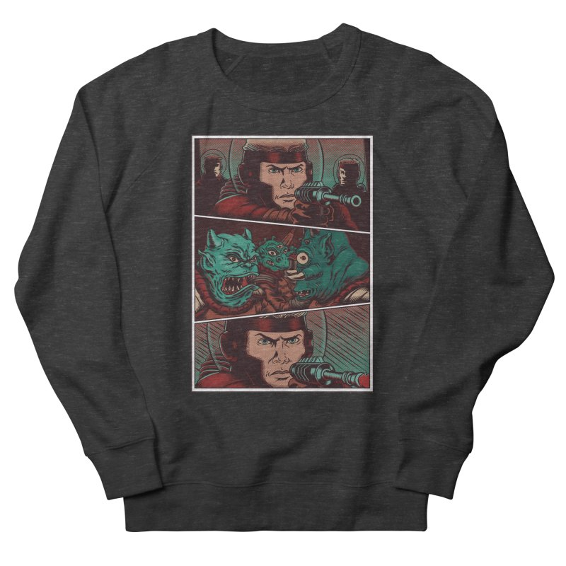 Comics Men's French Terry Sweatshirt by arisuber's Artist Shop