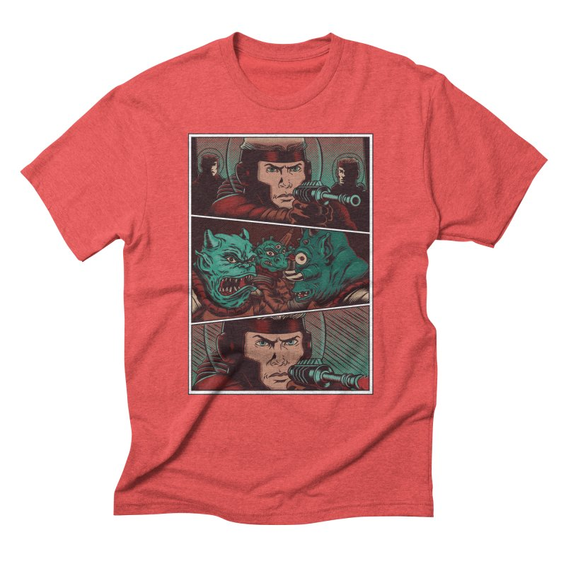 Comics Men's Triblend T-Shirt by arisuber's Artist Shop