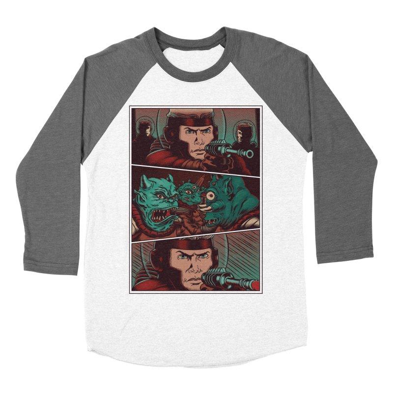Comics Women's Baseball Triblend Longsleeve T-Shirt by arisuber's Artist Shop