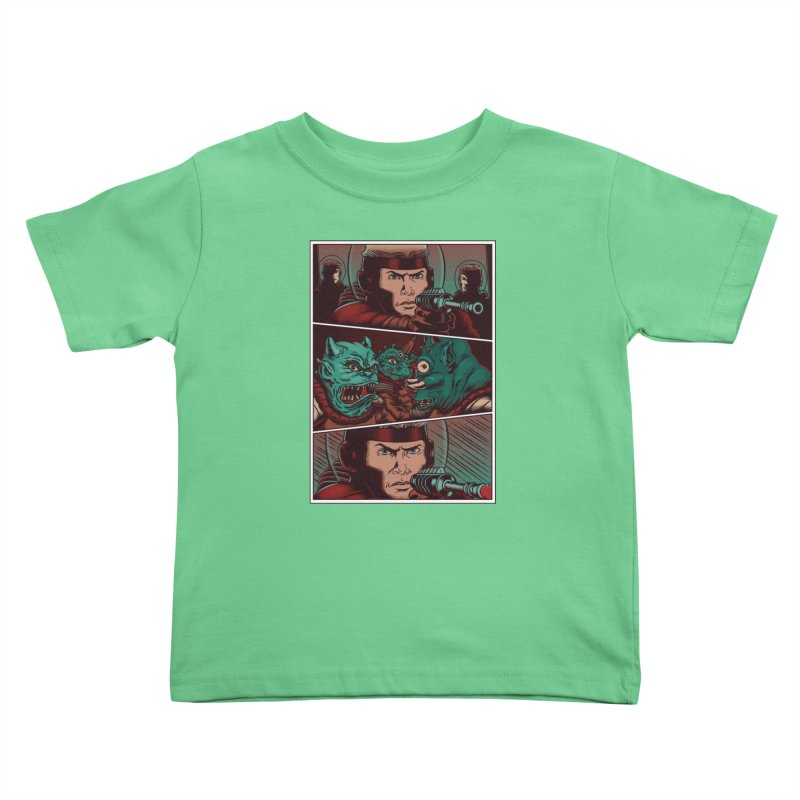 Comics Kids Toddler T-Shirt by arisuber's Artist Shop