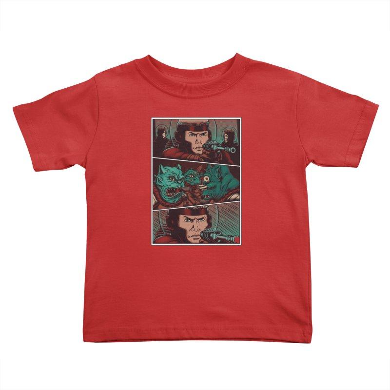 Comics Kids Toddler T-Shirt by arisuber's Artist Shop