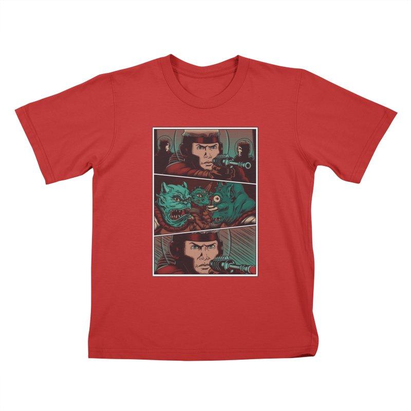 Comics Kids T-Shirt by arisuber's Artist Shop