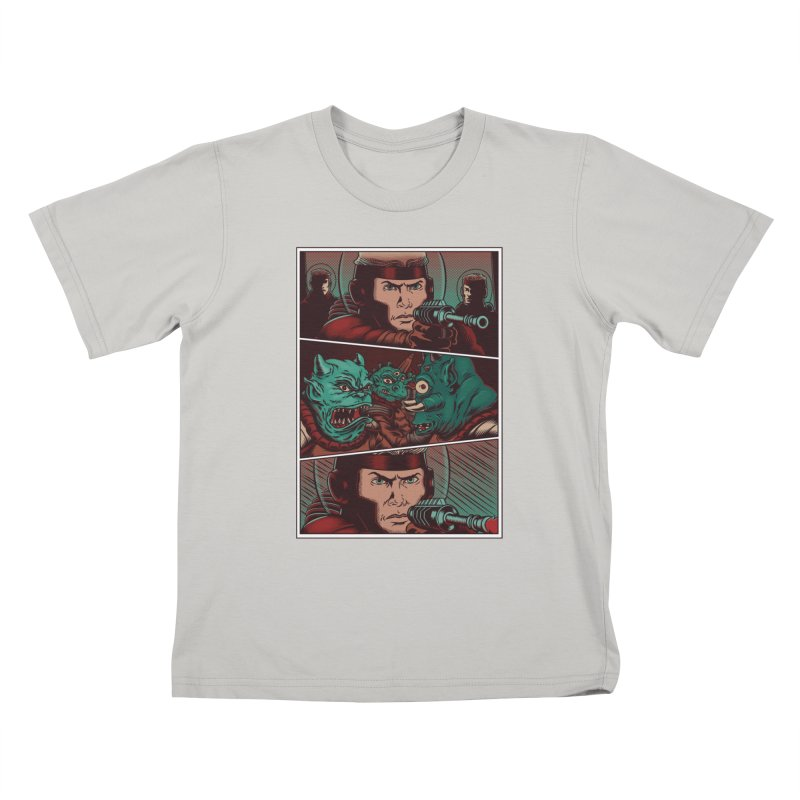 Comics Kids T-shirt by arisuber's Artist Shop
