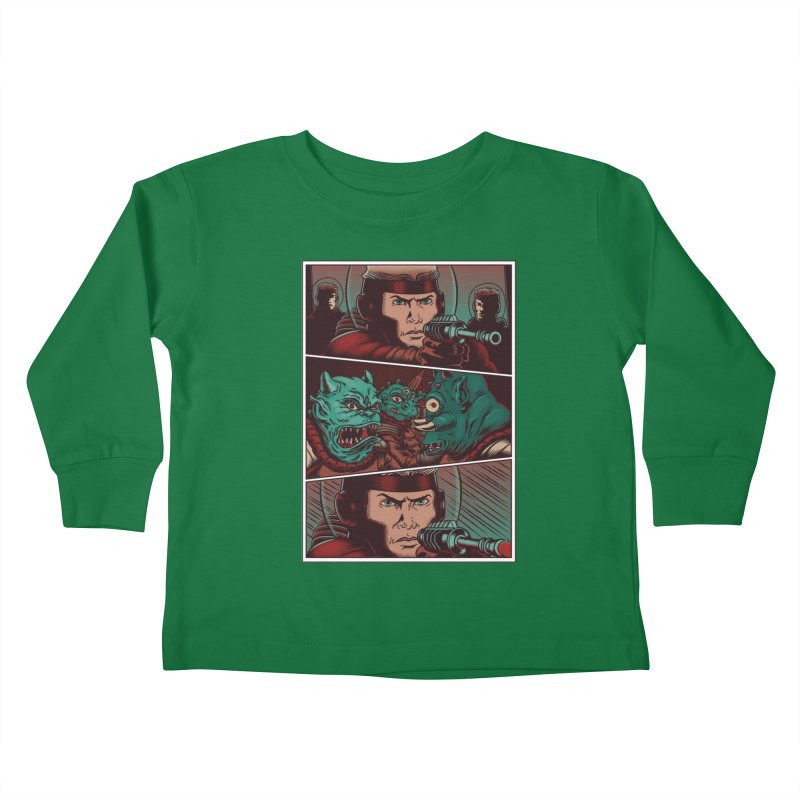 Comics Kids Toddler Longsleeve T-Shirt by arisuber's Artist Shop
